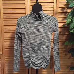 Fastest Track Asymmetrical Quarter Zip Gray